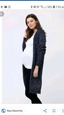 Ripe Maternity Knitted Cardigan -Size Medium *great condition