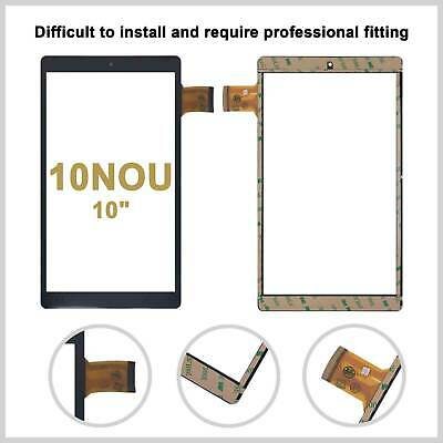 For Alba 10 Nou 10 inch Tablet Touch Screen Digitizer Top Screen Black