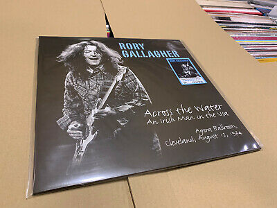 Rory Gallagher Lp Across The Water An Irish Man In The Usa