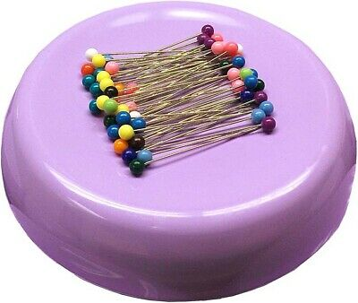 Lavender - Grabbit Magnetic Pincushion W/50 Pins