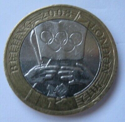OLYMPIC GAMES HANDOVER Beijing to London 2 pound coin £2 2012