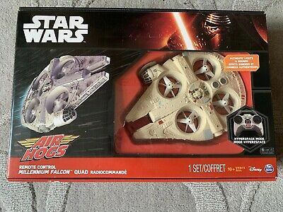 Air Hogs Star Wars Remote Control Millenium Falcon Quad
