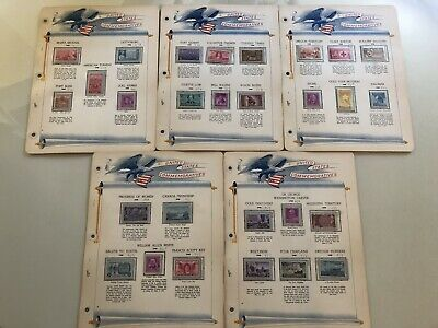 US STAMPS 1948 YEAR COMPLETE SET LOT SCOTT # 953-980 Very Nice Condition