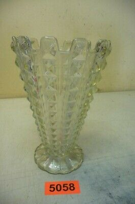 5058. Alte Jugendstil Vase Glasvase Old Glass