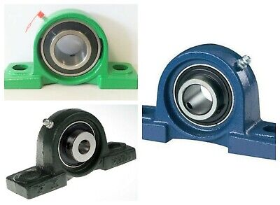 UCP Metric  Imperial Self Lube Pillow Block 2 Bolt Housed Bearing Quality Brand