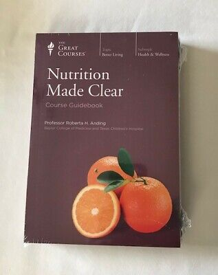 Nutrition Made Clear (The Great Courses). Course #1950. New and Sealed.
