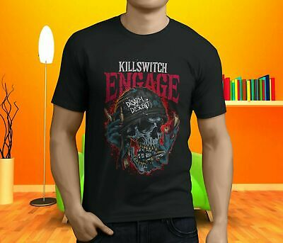 New Killswitch Engage The End Of Heartache Metal Band Men's Black T-Shirt S-3Xl