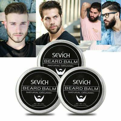 Natural Beard Balm Care Moustache Fast Growth Organic Moisturizing Conditioner