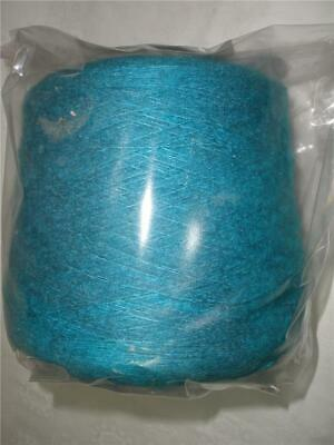 Macnine Knitting Yarn Large Cone 3Ply Turquoise Acrylic No Brand