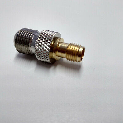 Convertor Socket Goldplated SMA To F Female Adapter RF TV Electronics Coax
