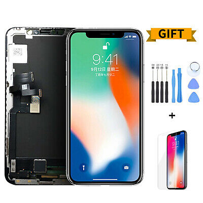 For iPhone X Display LCD Screen Touch Screen Digitizer Assembly Replacement lot