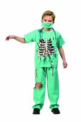 RG Costumes Scary E.R. Doctor Costume, Green/White/Red, Large