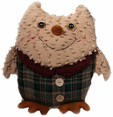 Craft Outlet Chenille Owl Figurine, 10-Inch