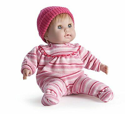 JC Toys - Berenguer Boutique Nonis 15  Soft Body Play Doll in Pink Striped PJ...
