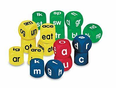 Learning Resources Phonics Cubes Class Set, Set of 18