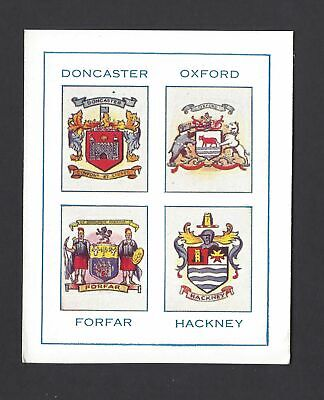 Thomson - Football Towns And Their Crests - Doncaster, Oxford, Forfar, Hackney