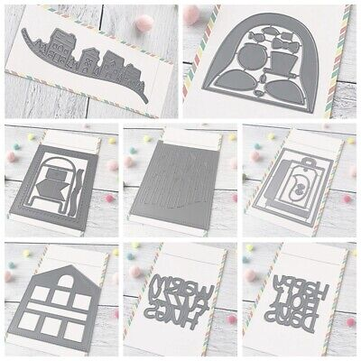 Newest Metal Cutting dies for Scrapbooking Crsfts Cards Decoration Embossing