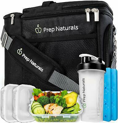 Meal Prep Bag Meal Prep Lunch Box - Meal Prep Insulated Lunch Bag for Men - Meal