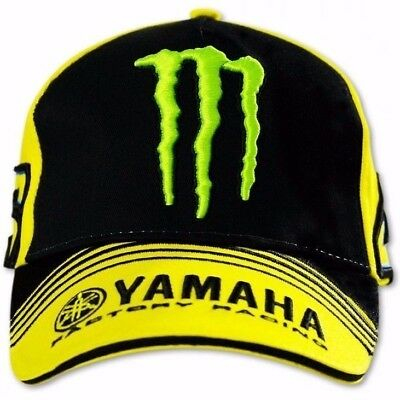Rossi Caps - Official Valentino Rossi VR46  Monster yellow Cap was £29.99