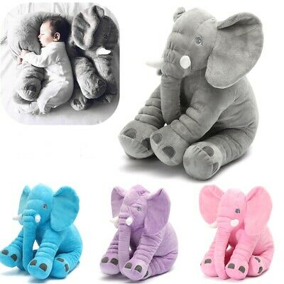 Soft Elephant Stuffed Doll Baby Pillow For Unisex Cute Likable Lovely USA