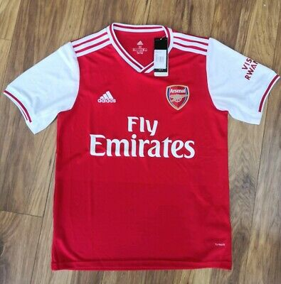 New with tags Arsenal Replica Home Shirt 2019/20 mens Medium red white