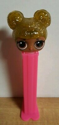 Pez LOL Surprise Girls ~ Queen Bee ~ New but Loose with Cover ~ New Release