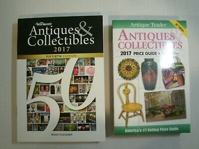 2017 Antique Trader & Warman's  ANTIQUES & COLLECTIBLES Price Guides *UNUSED