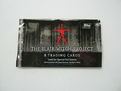 The Blair Witch Project Empty Trading Card Wrapper