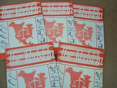 5 Scarce Early Copies Of The G. I. R. S. Journal For 1966 And 1967