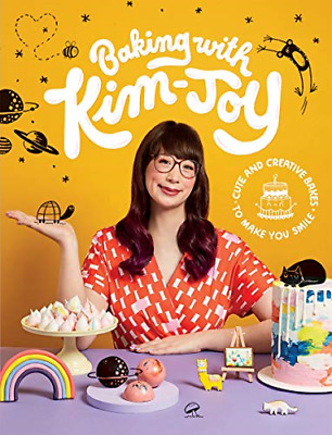 Baking with Kim-Joy: Cute and creative bakes to make you smile, Very Good Condit