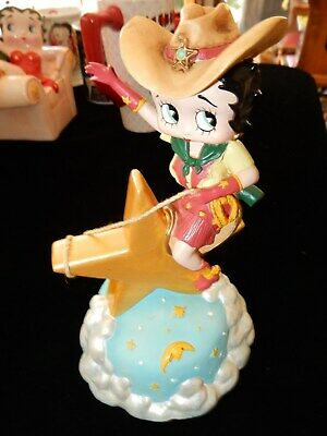 Betty Boop Rodeo Star Musical Figurine Dont Fence Me In