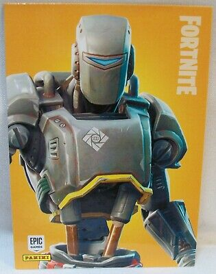 X-Rare Panini 2019 Fortnite A.i.m. ~ Legendary Outfit #291 Insert Trading Card!