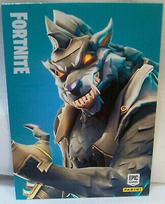 Very Rare Panini 2019 Fortnite Dire ~ Legendary Outfit #262 Insert Trading Card!