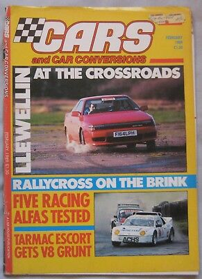Cars & Car Conversions magazine February 1989