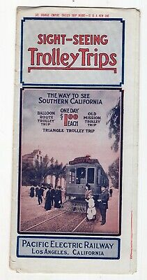 Early 1900's Pacific Electric Railway, Southern California Trolley Trips