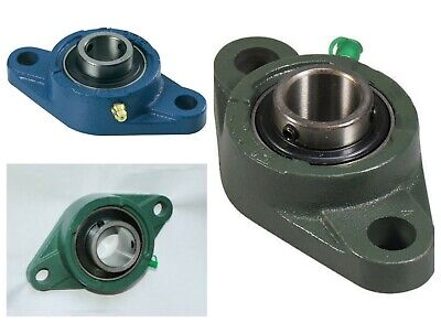 UCFL Self Lube Housed Bearings Metric and Imperial 2 Bolt Oval Flange