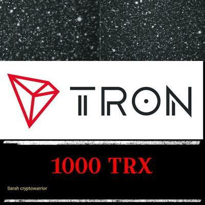 1000 TRON (TRX) MINING-CONTRACT (1000 TRX), Crypto Currency