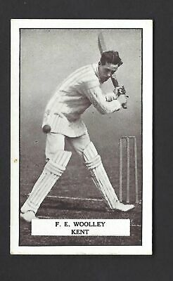 Gallaher - Famous Cricketers - #46 F E Woolley, Kent