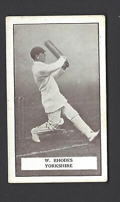 Gallaher - Famous Cricketers - #4 W Rhodes, Yorkshire