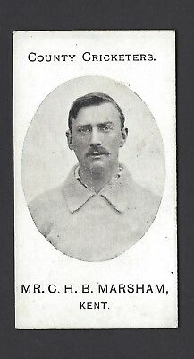 Taddy - County Cricketers - Mr C H B Marsham, Kent