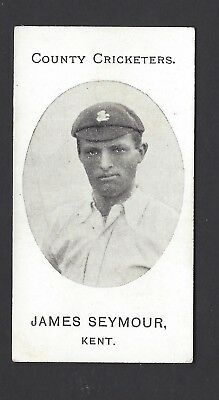 Taddy - County Cricketers - James Seymour, Kent
