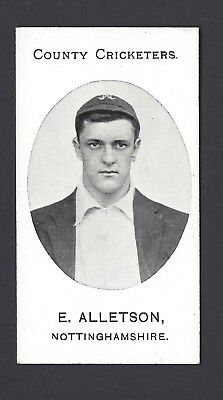 Taddy - County Cricketers - E Alletson, Nottinghamshire