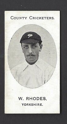 Taddy - County Cricketers - W Rhodes, Yorkshire