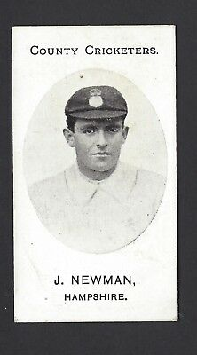 Taddy - County Cricketers - J Newman, Hampshire