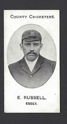 Taddy - County Cricketers - E Russell, Essex