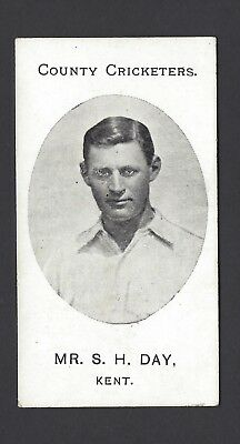 Taddy - County Cricketers - Mr S H Day, Kent