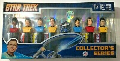 Star Trek TOS Pez Collectors Series 073621008953 Limited edition New in box