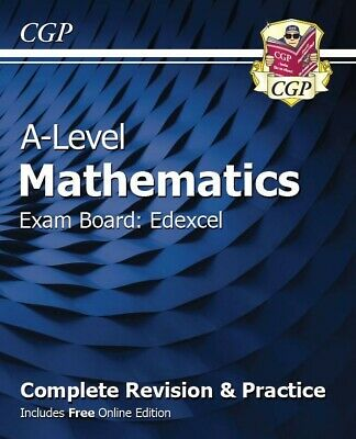 New A-Level Maths for Edexcel: Year 1 & 2 Complete Revision & Practice PDF Only