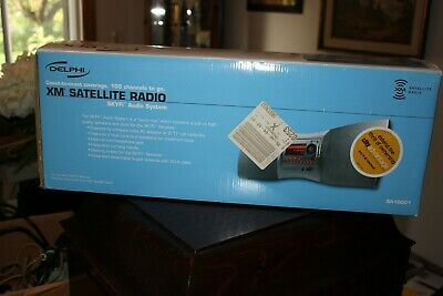 NEW Delphi XM Satellite Radio SKYFi Audio System SA10001 AC/DC NEW in BOX NIB