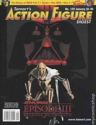 Tomart's Action Figure Digest #129 FN 2005 Stock Image